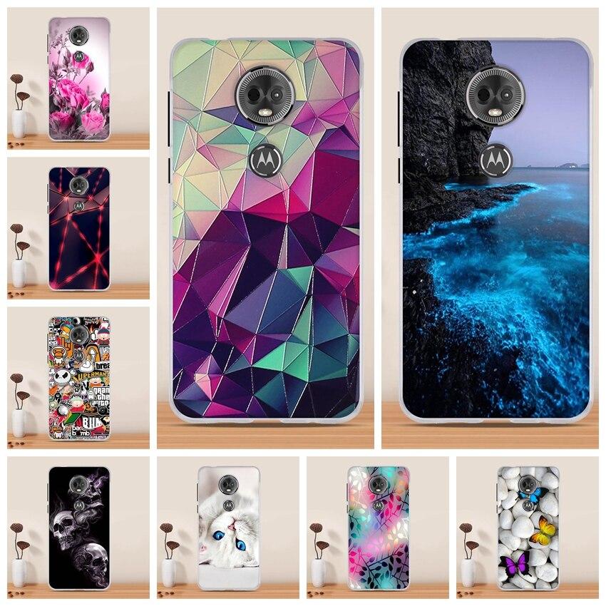 Case For Motorola Moto E5 Plus Case Cover Silicone Back Cover For Moto