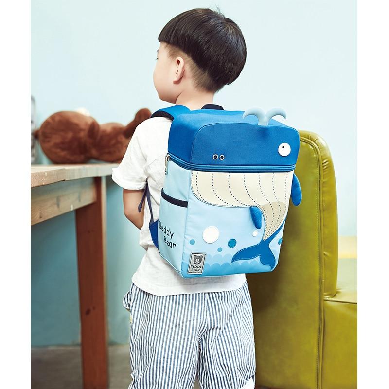 BEDDYBEAR Schoolbags Korea Genuine Beddybear Primary Children Creative Cartoon Backpack Reduced Ridge Pack in School Bags from Luggage Bags