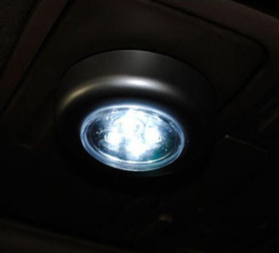 2018 Новый 4 светодиодный сенсорный ночник белый дом Кухня под шкаф толкатель на лампы подарки