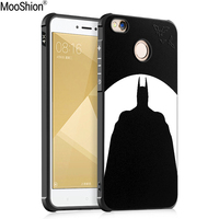 Mooshion Luxury Case For Xiaomi Redmi 4x Cover Silicone 3D Cartoon Relief Parttern Phone Case For
