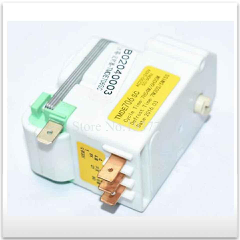 جديد جيد العمل عالية الجودة لقطع غيار الثلاجة TMDE706SC الثلاجة إزالة الجليد الموقت