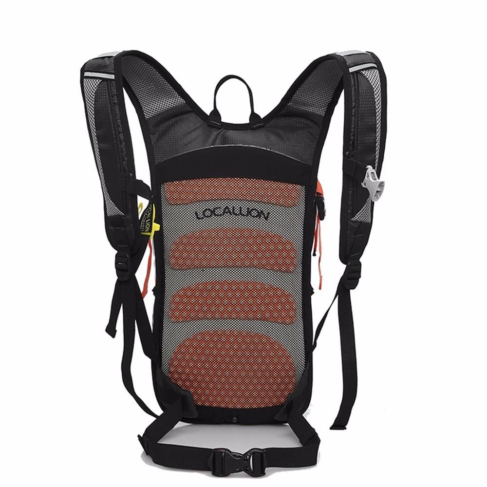 Sac à dos d'équitation vtt équipement extérieur Suspension respirant en plein air sac à dos d'équitation vélo sac de cyclisme en Nylon 8 couleur