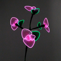 Mardi Gras Decor Light Up Make Up Party Accessory Begonia Night Fluorescent Supplies EL Led String