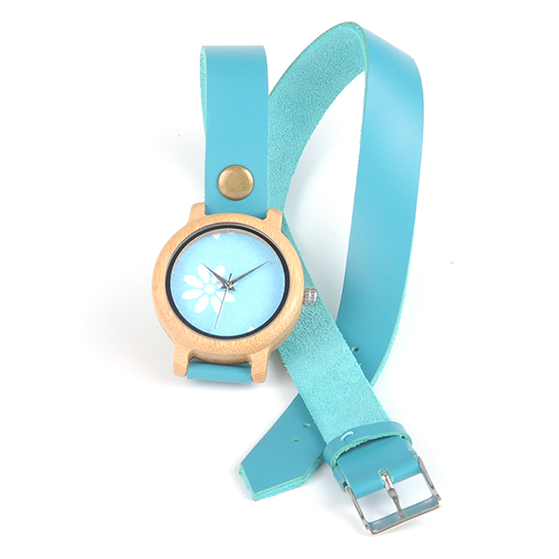 Image 2 - BOBO BIRD M22 Handmade Women Unique Wood Watch Fashion Brand For Ladies Watch With Quartz Movement Montres femmes With Gift Box-in Women's Watches from Watches