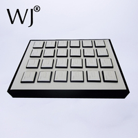 Original Jewelry Display Prop Ring Tray Setting Pallet Holder With 20pcs Magnet Sheets Show Stand Holder
