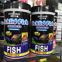 High Nutrition fish food for cichlid Fish Color Enhancer Fish Feed 500ML