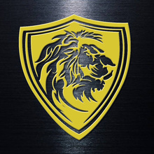 Cool Lion head Car Sticker and decals for Mobile phone laptop cars styling decoration vinyl creative