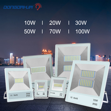 high power led flood light rgb factory wholesale outdoor ip65 10W 20W 85-265V floodlight