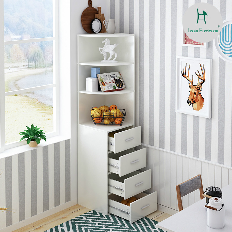 US $244.9 |Louis Fashion Bookcases Simple Living Room Accommodating Corner  Cabinet Corner Simple Corner-in Bookcases from Furniture on Aliexpress.com  ...