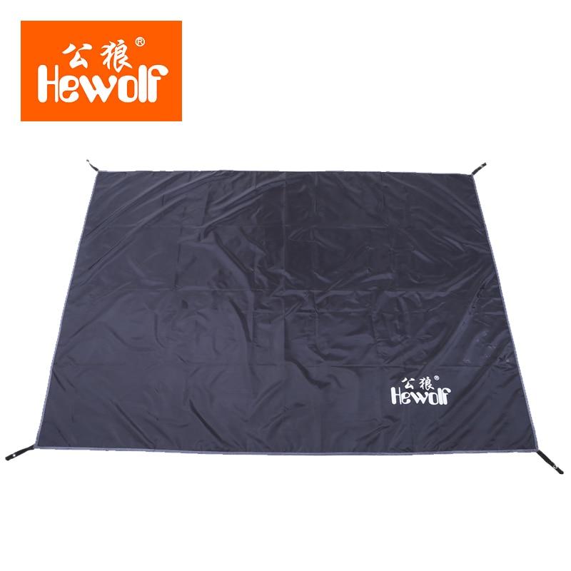 Hewolf Ground Mat Outdoor Beach Picnic Ground Pad Cushion Tent Floor Mat  Camping Awning(China