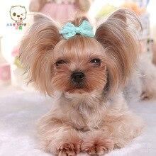 Cotton dog yarn / bowknot / hairpin