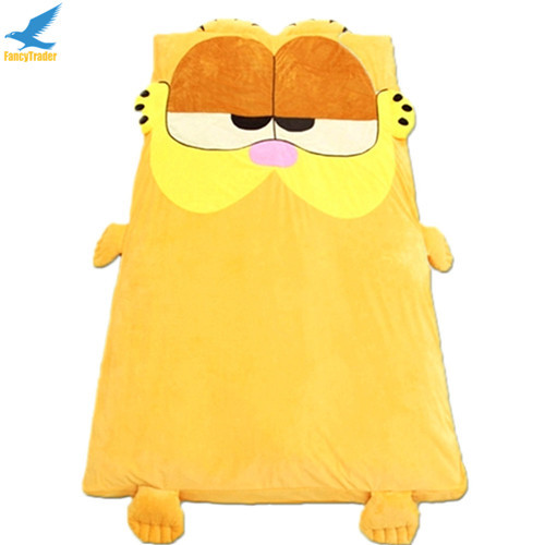 Fancytrader  Anime Garfield Beanbag Soft Giant Plush Cat Bed Carpet Tatami Sofa Sleeping Bed Nice Gift FT90904 (5)