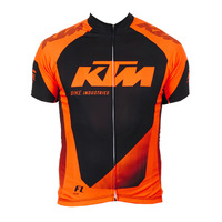 2017 Prp KTM Cycling Jersey Summer MTB Bike Cycling Clothing Racing Bicycle Shirts Short Sleeve Maillot