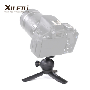 Image 2 - XILETU XS 1 Mini Desktop little handheld Stand Tabletop portable travel tripod for smartphone Cell Phone DSLR with phone holder