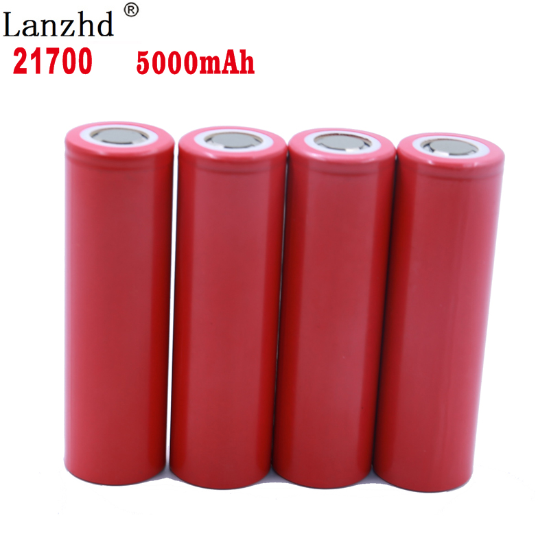 8 24PCS For electric car 21700 5C Power battery 3.7v 25A rechargeable batteries Li ion lithium battery for Electric drill/Toy
