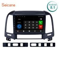 Seicane Android 8,1/7,1 9 дюймов, автомобильный, мультимедийный плеер с gps навигатором для HYUNDAI SANTA FE 2005 2006 2007 2008 2009 2010 2011 2012