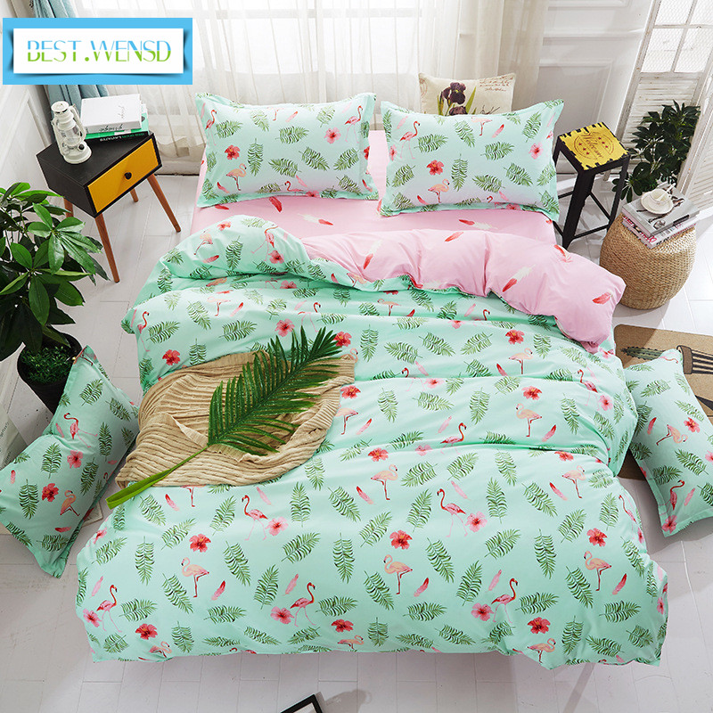 BEST.WENSD Hot Jacquard Leaves Winter Bedding Set Luxury Ultra Soft Wedding Favors And Gifts Duvet Cover Bedsheet Set-bedclothes