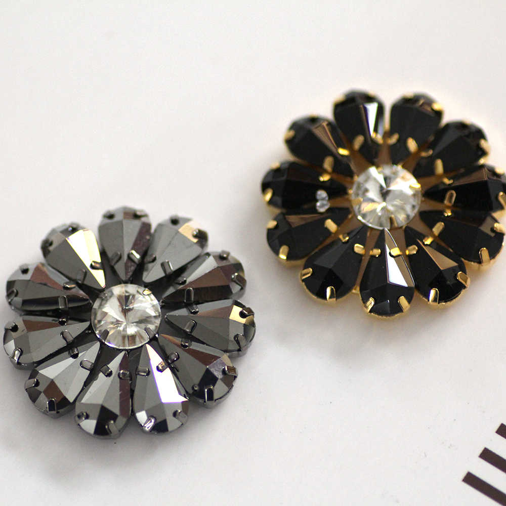00f63caffc Detail Feedback Questions about 58mm Flower Shape crystal Sew On ...