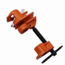 Купить с кэшбэком Woodworking Jigsaw Clamp Pipe Clamp Carpenter Tube Connector Woodworking Fixture 4 / 6 Water Pipe Clamps