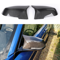Anzulwang For BMW 2 Series F22 F23 2014 2015 2016 218i 220i 228i M235i M3 M4 Look Replacement style Carbon Fiber Mirror Cover