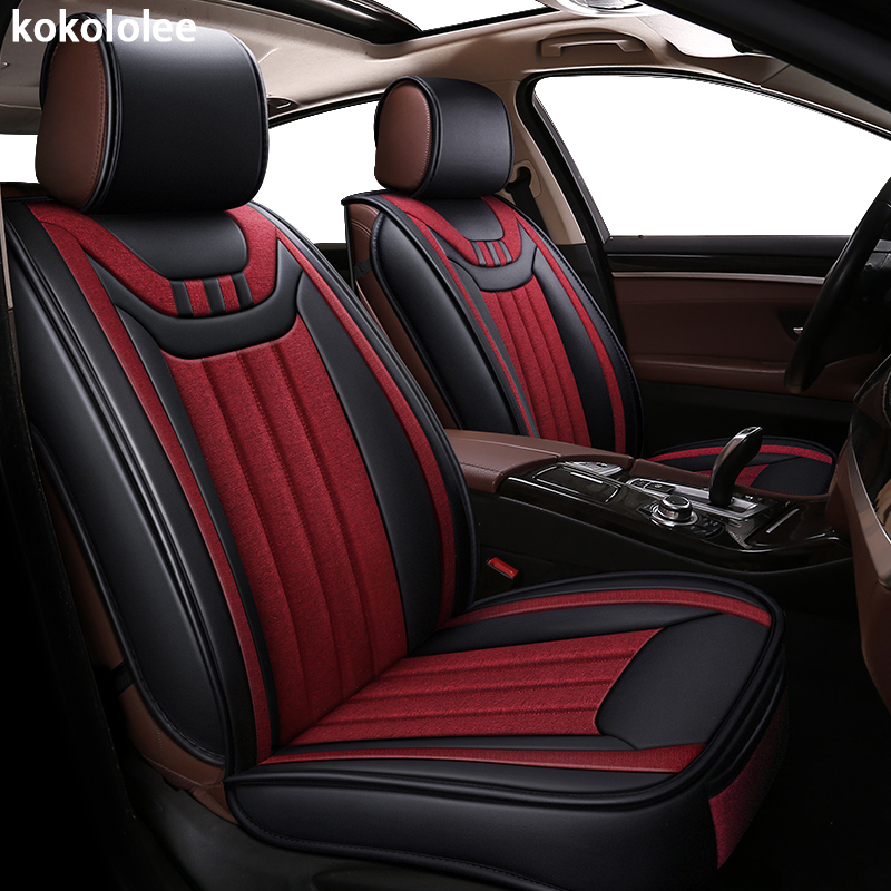 kokololee car seat cover for suzuki baleno ignis jimny liana swift sport wagon r automobiles seat cover car-styling