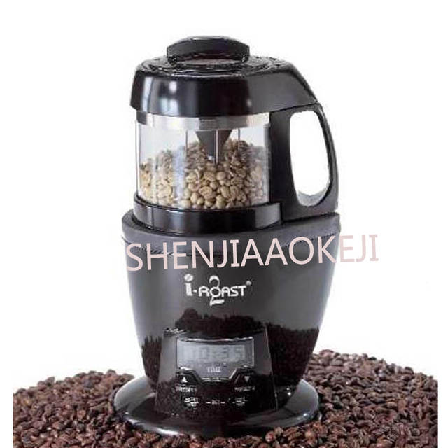 US $544 72 12% OFF|110v/220V Electric Coffee Roaster coffee roasting  machine Small home Coffee Bean Baking Machine Commercial Coffee Bean  Dryer-in
