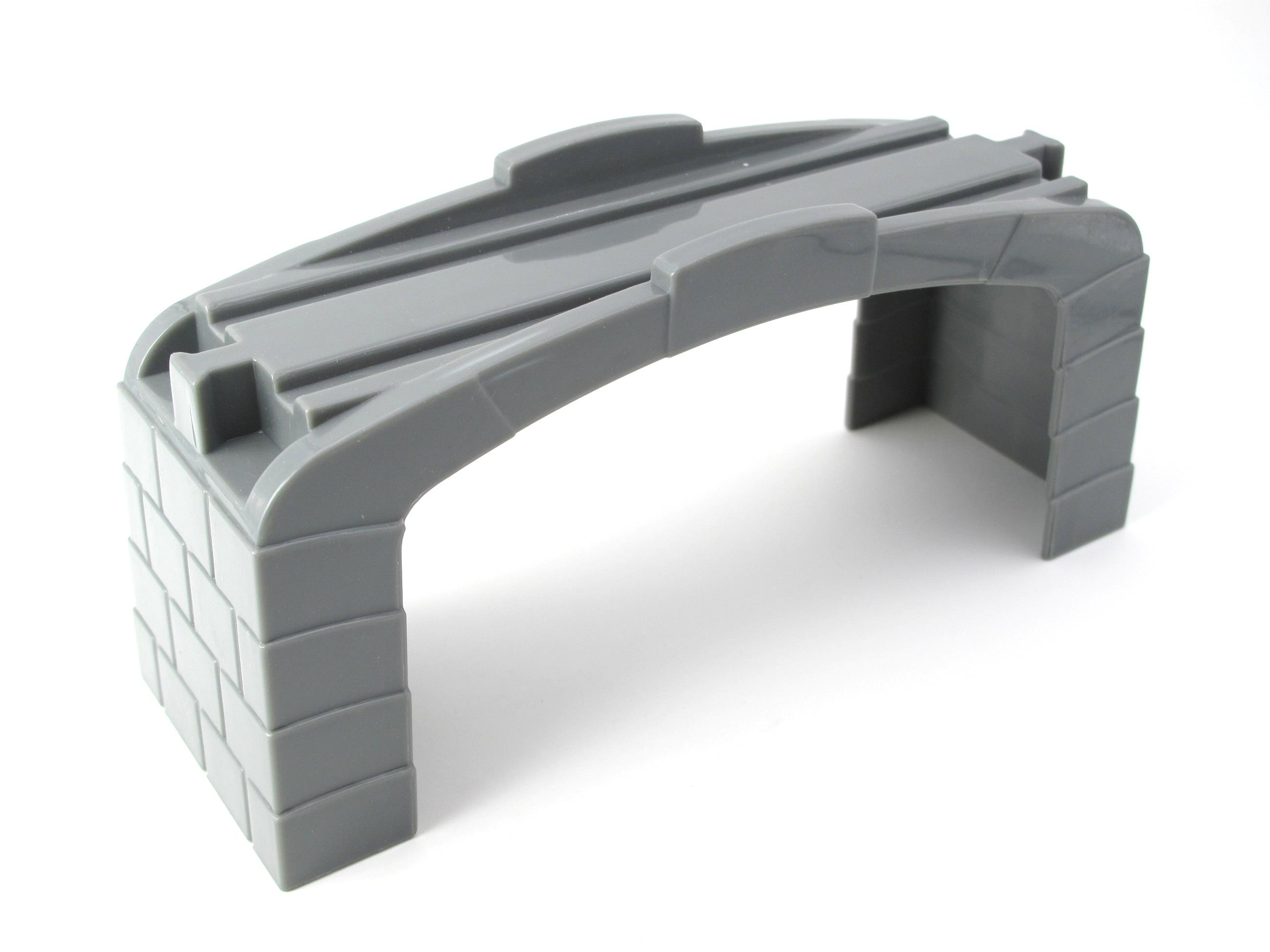 Train Toys Railway Track TTC115 Grey Pier Fit For  Car Brio Toys For Boys Engine Models Building Toy