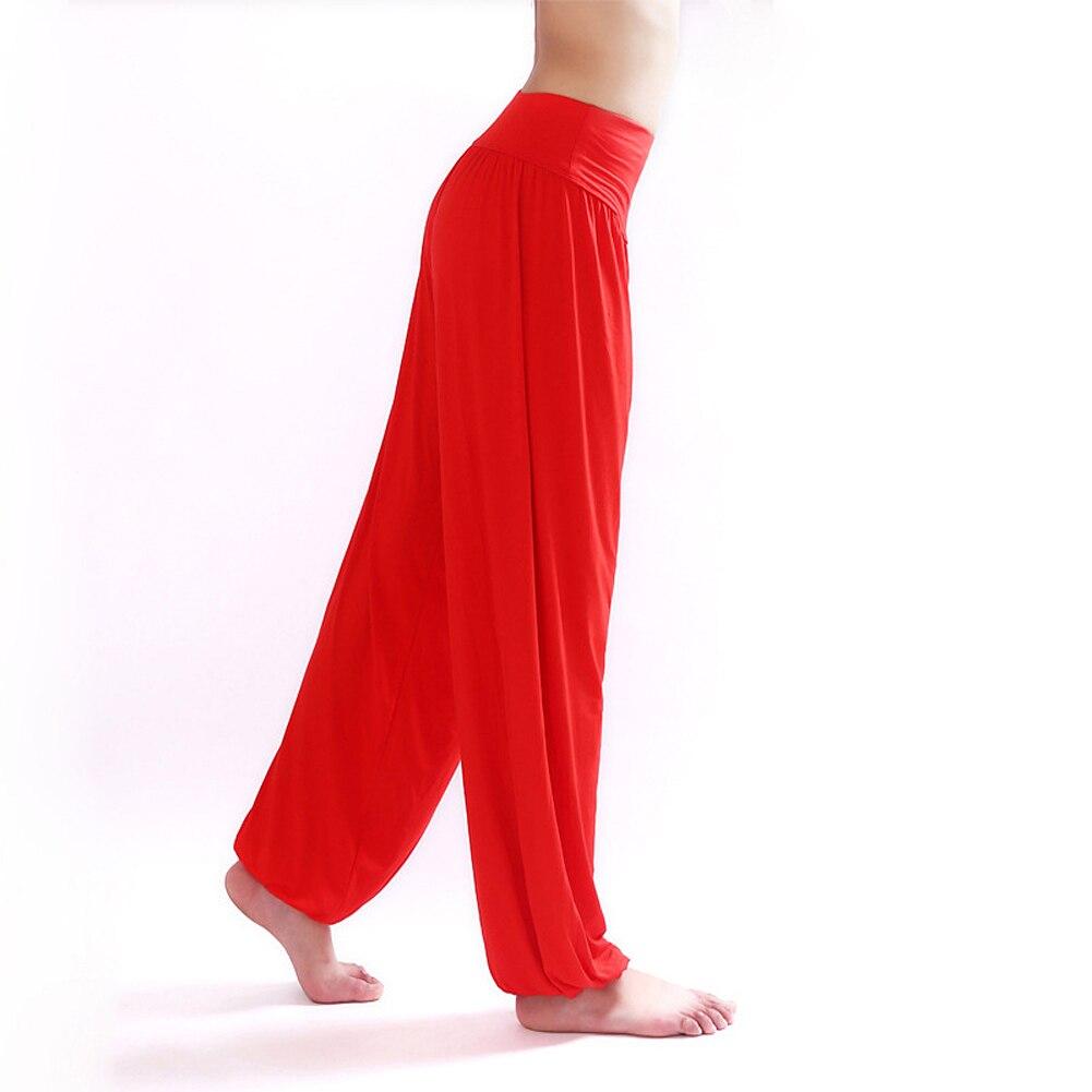 2017 יוגה מכנסיים נשים בלום ריקודים יוגה TaiChi מכנסיים אורך מלא חלקות מכנסיים Antistatic B2C חנות