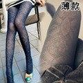 10 Cores Calças Justas Mulheres 2014 Recorte Do Vintage Meia-calça Básica Nova Outono-Inverno das Mulheres de Alta Qualidade 100% Meias de Veludo atacado