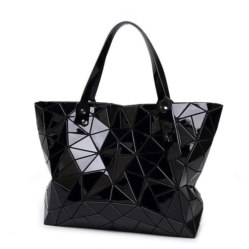Prix pour Mode Diamant D'été sac grand Matelassé dames Sac À Main sac femelle Géométrique fourre-tout Laser femme sacs à bandoulière designers marque