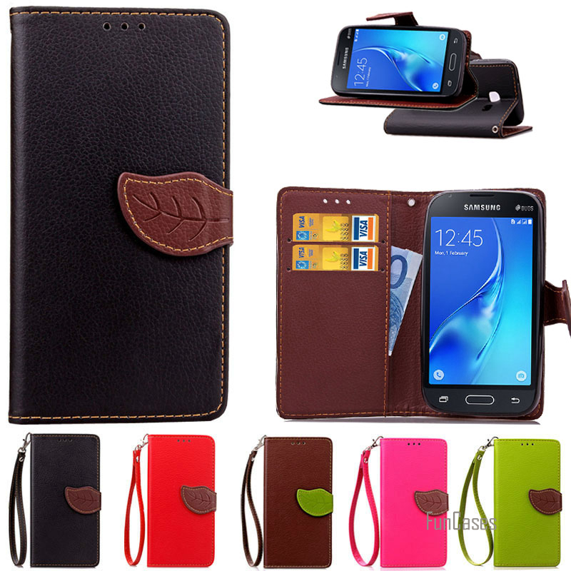 2016 Luxury Wallet Leather Case For Samsung Galaxy J1 Mini J105 J105H J105F / J1 Nxt Duos Flip Cover Coque for galaxy J1 mini ~`