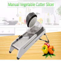 Famirosa Multifunctional Manual Vegetable Cutter Mandolin Slicer Carrot Grater Kitchen Accessories