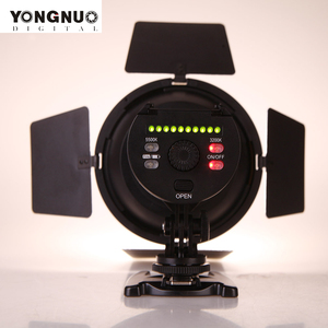 Image 2 - YONGNUO YN216 3200K/5500K LED Video Light with 4 Color Plates for Canon Nikon DSLR Camera Video Light Photographic Lighting