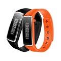 2016 à prova d' água bluetooth 4.0 pulseira smartband oled inteligente rastreador de fitness banda relógio de pulso para iphone android smartphone # ed