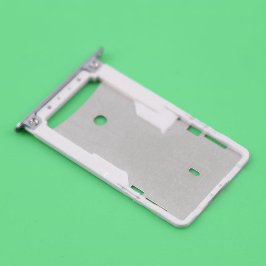 YuXi SIM Card Slot Holder for Xiaomi Redmi 3 3S Micro SD Card Slot Tray Socket Adapter Replacement Repair Spare Parts Gray