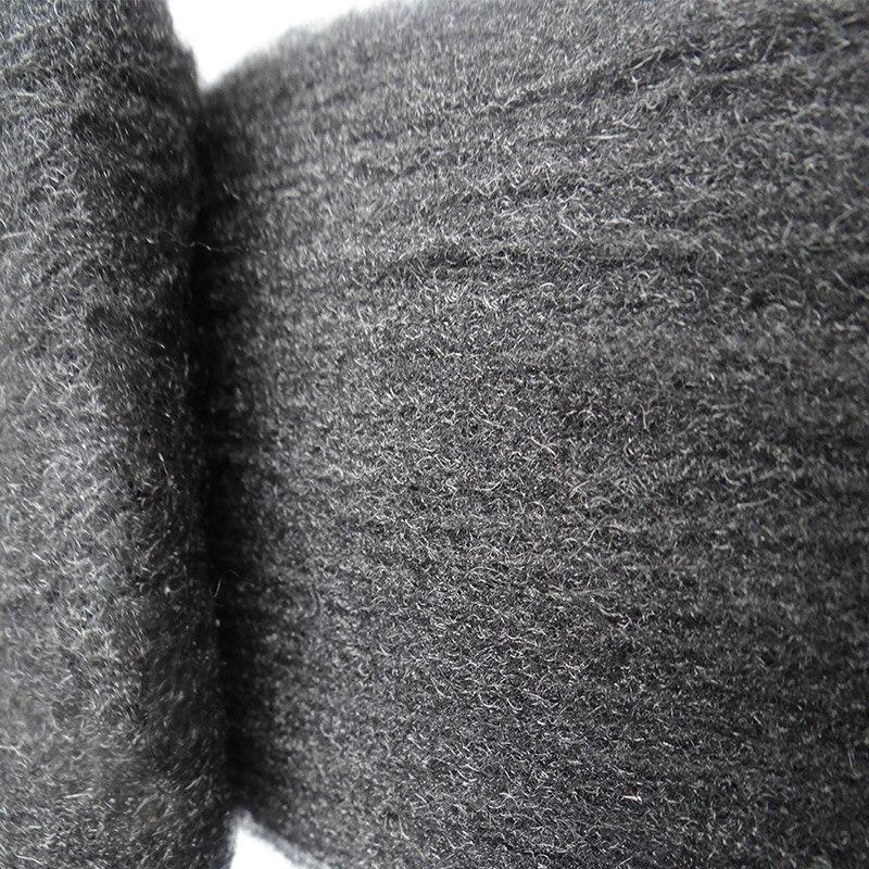 Новая стальная проволока шерсти класса 0000 3,3 м для полировки очистки удаления не осыпается