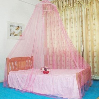 Fashion Round Lace Bed Canopie Netting Cortina Dome Mosquito Net transport gratuit