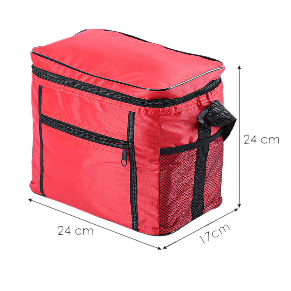 Thermal Cooler Waterproof Outdoor Picnic Bags Insulated Portable Tote Lunch Bags For Women