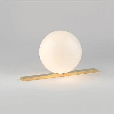 ZYY mode créative mignon chaud lampe sphérique blanc dimmable minimaliste chambre lampe de chevet 200*212*400mm