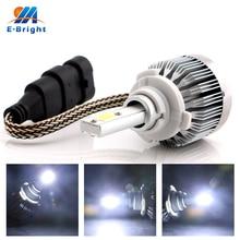 4pcs 8pcs 10pcs 9005 9006 COB 15W Led Auto Bulb Front Fog Light Driving Lamp 360 Degree Headlight 9-36V Free Shipping