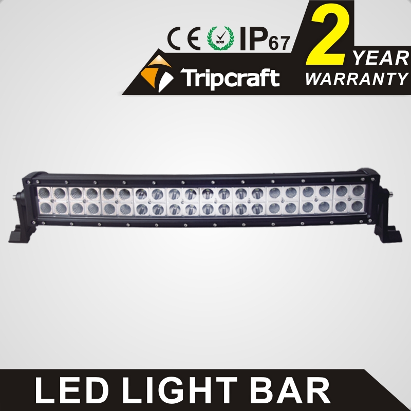 TRIPCRAFT 120w led work light bar 21.5inch curved car lamp for offroad 4x4 truck SUV ATV spot flood combo beam driving fog light auxbeam 54 312w 5d cree led light bar combo curved offroad led bar 2pcs 60w 5 led driving light for jeep truck atv suv