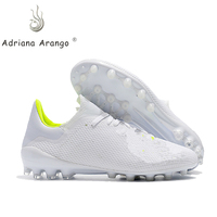 Adriana 2019 hot new universal venue football shoes wear non slip lightweight AG nail soccer shoes men