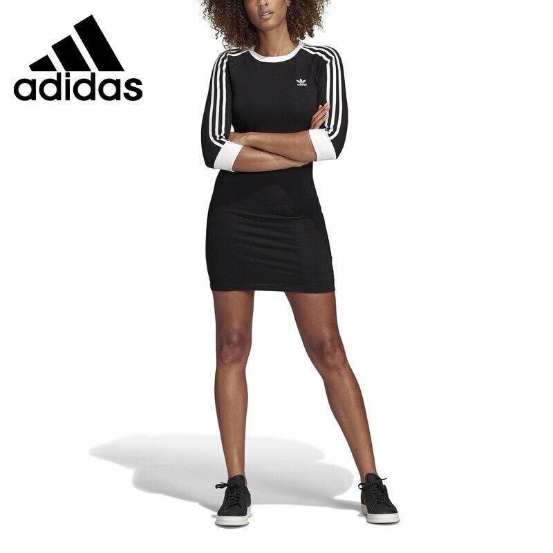 Original New Arrival Adidas Originals 3 STRIPES DRESS Women s Dress Sportswear