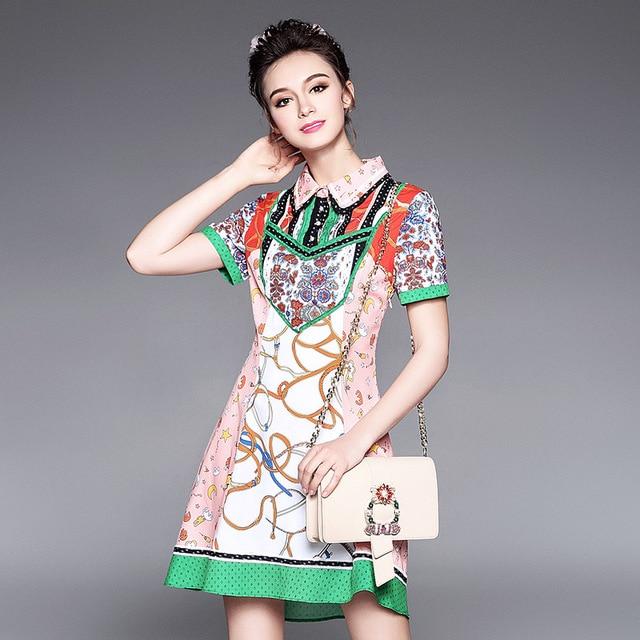 177ebc183d US $39.99 30% OFF|AOFULI Plus Size L 5XL Boho Style Women Summer Dresses  Top Quality 2017 Runway Brand Fashion Ethnic Print Vintage Dress-in Dresses  ...