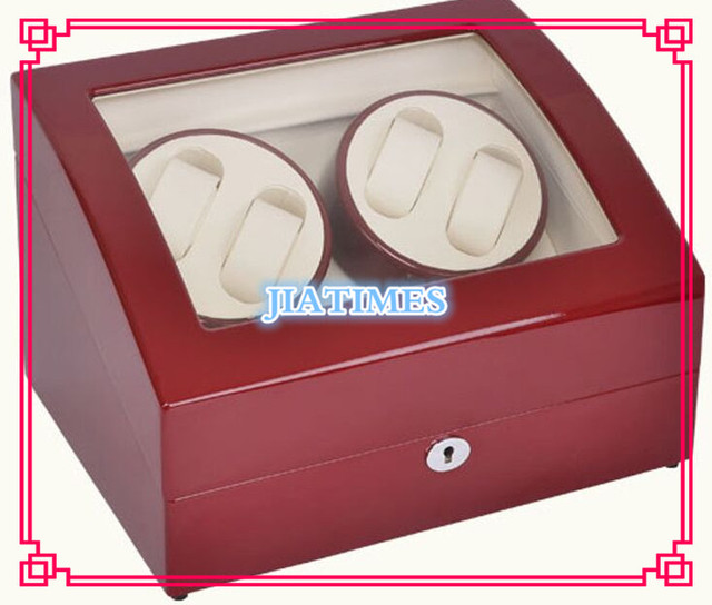 Novo Atacado Dobadoura Do Relógio Automático 4 Relógios De Luxo Vermelho & caixa de Armazenamento de 6 Relógio Cronômetro Relógio