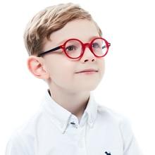 Glasses For Boys Round Kids Red Circle Children Eyeglasses Acetate Optical Frames kids Eyeglass Frame