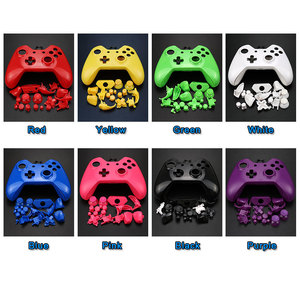 Image 3 - YuXi for Xbox One Replacement Chrome Full Shell And Buttons Mod Kit Matte Controller Custom Cover Housing