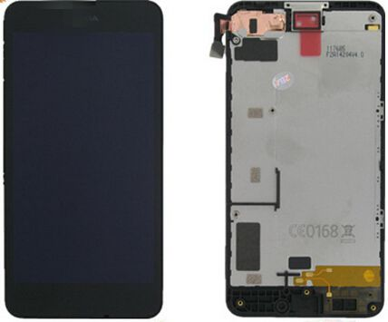 Подробнее о Lcd for nokia lumia 630 display screen +touch glass digitizer +frame assembly replacement Pantalla free shipping new full black touch digitizer glass lcd display screen assembly with frame for nokia lumia 630 replacement