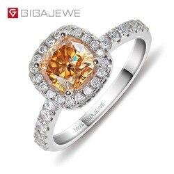 Женское кольцо GIGAJEWE из серебра 925 пробы с муассанитом, 18 к