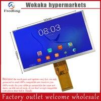 New 7 Inch YQL070DIPS J 163 97mm 1024X600 50pin Irbis TX55 Hd LCD Screen For Newman